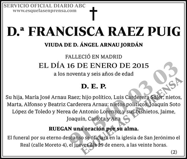 Francisca Raez Puig